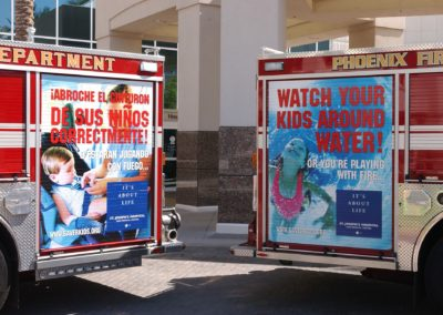 Fire Truck Safety Messages