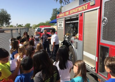 PFD Truck with Kids