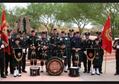Pipes and Drums Honor Guard